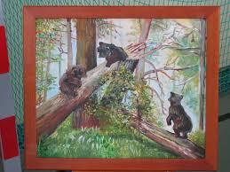 Niedźwiadki-obraz pana J. Omelczuka
